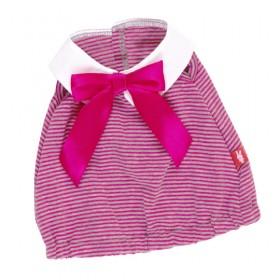 Платье в розовую полоску BudiBasa для Зайки Ми 23 и 32 см
