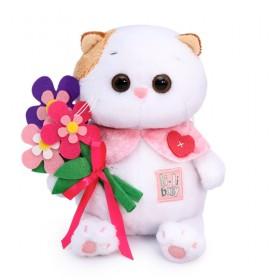 Кошечка Ли-Ли BABY с цветами из фетра