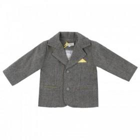 """Стильный пиджак для мальчика из коллекции """"Little Gentleman"""" (р-ры: 074,080,086)"""