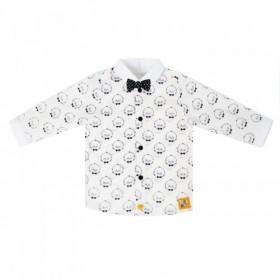 """Рубашечка с бабочкой из коллекции """"Little Gentleman"""" (р-ры: 074,080,092)"""