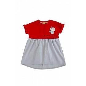 """Платье комбинированное из коллекции """"My Little Captain"""" (р-ры: 080,098)"""