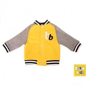 Куртка Бомбер желтая  (р-ры: 074,080,086,092)