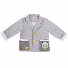 """Кофта- пиджак из коллекции """"Little Gentleman"""" (р-ры: 062, 068,080,086,092,098)"""