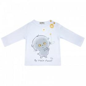 """Рубашечка с длинным рукавом из коллекции """"My Little Flower"""" (р-ры: 062,068,098)"""
