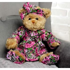 """Мягкая игрушка """"Медведица тетя Тома"""""""