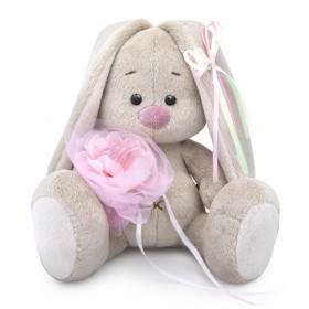 Зайка Ми c розовым цветком (малыш)