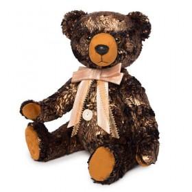 Медведь БернАрт-золотой (металлик)