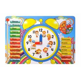 """Развивающая игрушка """"Часы"""""""