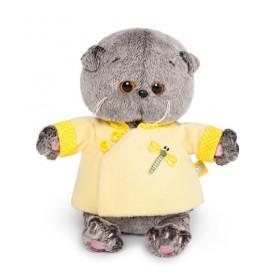 Кот Басик BABY в желтой курточке в китайском стиле