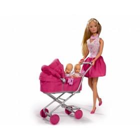 Кукла Штеффи с большой коляской