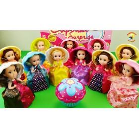 Кукла-сюрприз Cupcake Surprise - Сладкий кекс с ароматом 12 видов, 6 ароматов (в ассортименте)