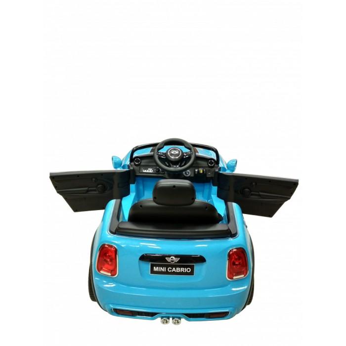 Электромобиль Chi Lok Bo Mini Cabrio F57 (голубой)