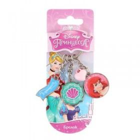 """Брелок с бусинками """"Я принцесса"""", Принцессы: Русалочка"""