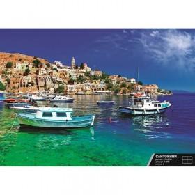 Фотообои К-078 «Санторини» (4 листа), 200 × 140 см