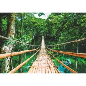 Фотообои К-128 «Бамбуковый мост» (8 листов), 280 × 200 см