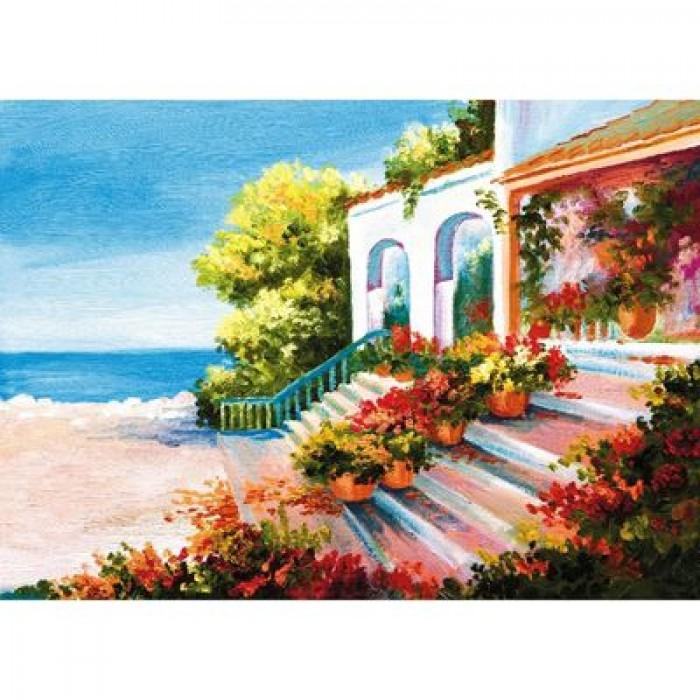 Фотообои самоклеящиеся «Дом у моря», 2 листа, 100 × 140 см