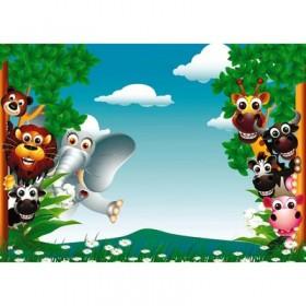 Фотообои самоклеящиеся «Мадагаскар», 2 листа, 100 × 140 см