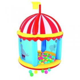 """Игровой центр надувной Fisher Price """"Форт"""", 99 х 132 см, 100 шариков, от 2 лет Bestway"""
