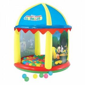 """Игровой центр с куполом """"Микки Маус"""", 99 х 110 см, от 1 года Bestway"""