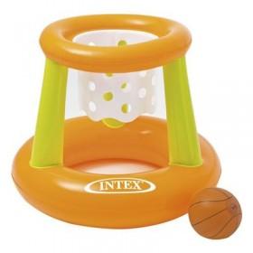 Корзина баскетбольная, надувная, с мячом, 67 х 55 см, от 3 лет INTEX