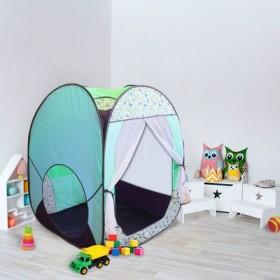 """Палатка квадрат увелич. """"Радужный домик"""", 4 грани """"Джунгли"""""""