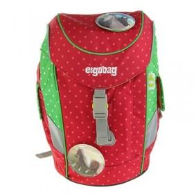 Рюкзачок детский эргоном.спинка Ergobag Mini 30*20*17 дев., красн/зелен ERG-MIP-001-977