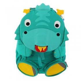 Рюкзачок детский эргономичная спинка ErgoBag Аффенцан 31*20*12 см, Dragon Danny бирюзовый