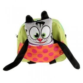Рюкзачок детский Ir's 27*24*8 «Кот» 313-13-10-6 брелок-игрушка, скерый кот