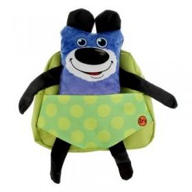 Рюкзачок детский Ir's 27*24*8 «Мишка» 313-13-10-1 брелок-игрушка, синий