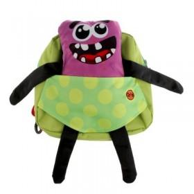 Рюкзачок детский Ir's 27*24*8 «Мишка» 313-13-10-2 брелок-игрушка, розовый