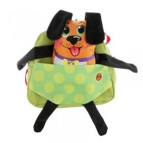Рюкзачок детский Ir's 27*24*8 «Собачка» 313-13-10-7 брелок-игрушка