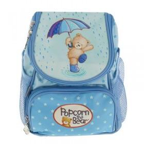 Рюкзачок детский Kite Popcorn Bear 535 25*20*13 PO-1 голубой PO17-535XXS-1