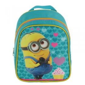 Рюкзачок детский Миньоны. Universal Studios 23*19*8 мал бирюзовый 31909