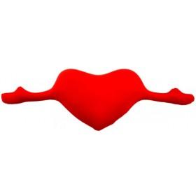 Подушка-антистресс Сердце с руками