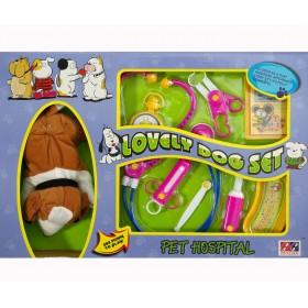 """Набор """"Ветеринар"""" с мягкой игрушкой"""