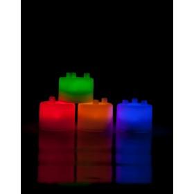 Лампа-ночник из цветных блоков «СЕМИЦВЕТИК»