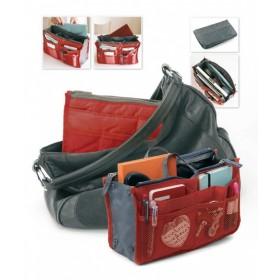 Органайзер для сумки «СУМКА В СУМКЕ» цвет красный