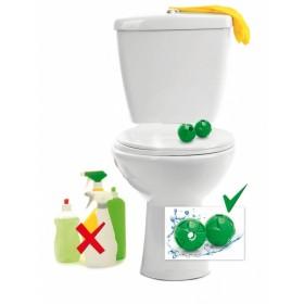 Шары магнитные для чистки туалета 2шт