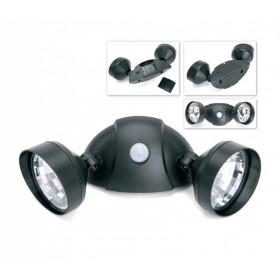 Портативный светильник с двумя спотами и датчиком движения