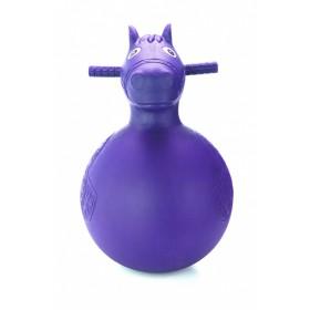 Игрушка детская-попрыгунчик «ВЕСЁЛАЯ ЛОШАДКА» фиолетовая