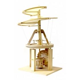 Конструктор из дерева «ВОЗДУШНЫЙ ВИНТ» Леонардо Да Винчи