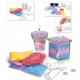 Набор для творчества «СВЕЧКИ СВОИМИ РУКАМИ» модель для изготовления 2х видов свечей