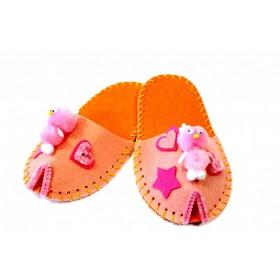 Набор для творчества «ШЬЕМ ТАПОЧКИ» модель Цветок розовый