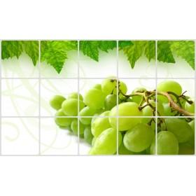 Экран защитный кухонный «ВИНОГРАДНАЯ ГРОЗДЬ»