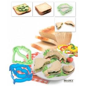 Форма-резак для бутербродов и выпечки «ДИНОЗАВРИКИ»