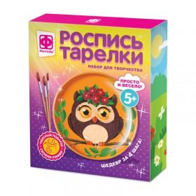 Роспись тарелки Совунья, арт. FN-717053