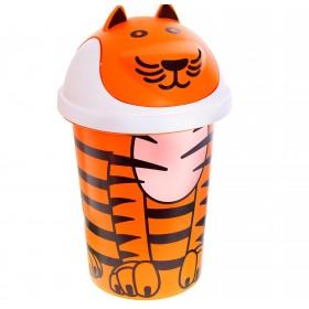 Корзина для игрушек Jungle 10 л, цвет оранжевый