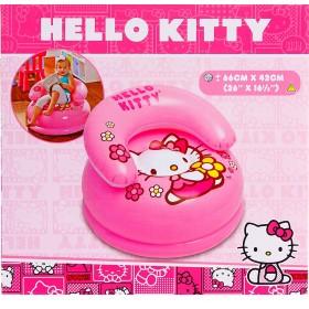 Кресло надувное Hello Kitty, от 3 до 8