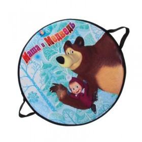 "Ледянка ""Маша и Медведь"" 52 см, круглая Т59046"