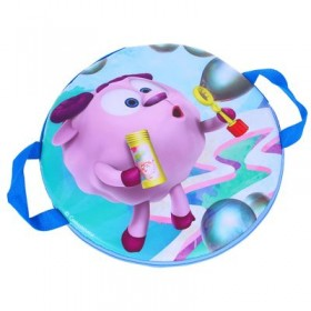 """Ледянка-плюшка """"Бараш и мыльные пузыри"""", d=40 см"""
